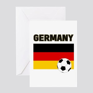 Germany soccer Greeting Cards