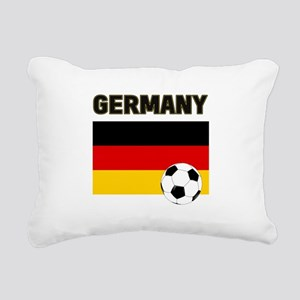 Germany soccer Rectangular Canvas Pillow