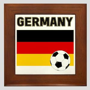 Germany soccer Framed Tile