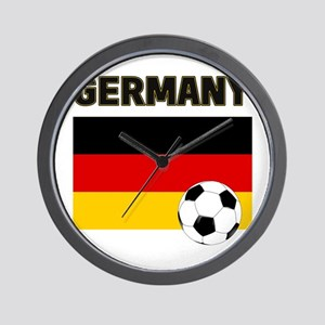 Germany soccer Wall Clock
