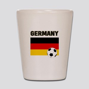 Germany soccer Shot Glass