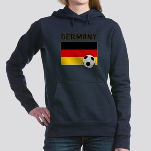 Germany soccer Women's Hooded Sweatshirt