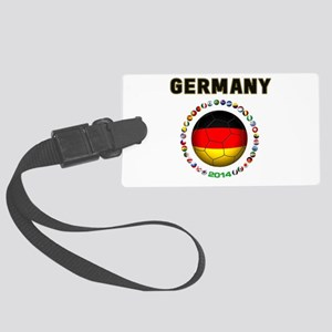 Germany soccer Luggage Tag