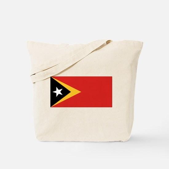 Timor Leste flag Tote Bag