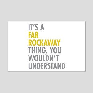 Far Rockaway Queens NY Thing Mini Poster Print