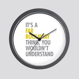 Far Rockaway Queens NY Thing Wall Clock