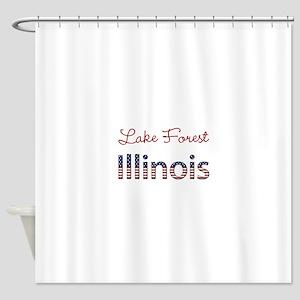 Custom Illinois Shower Curtain