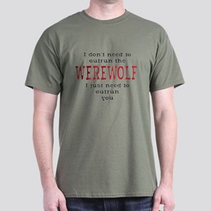 Outrun The Werewolf 3 T-Shirt