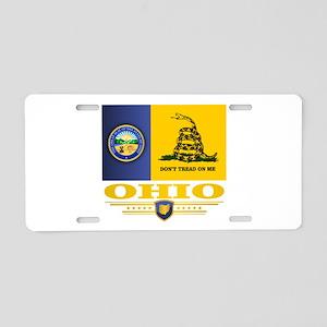 Ohio Gadsden Aluminum License Plate