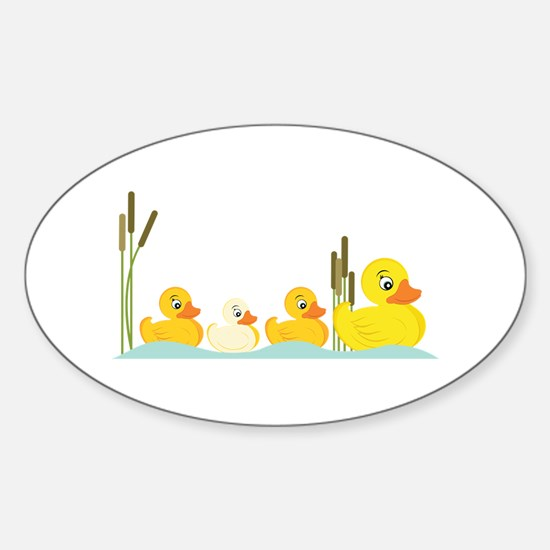 Ducky Family Decal