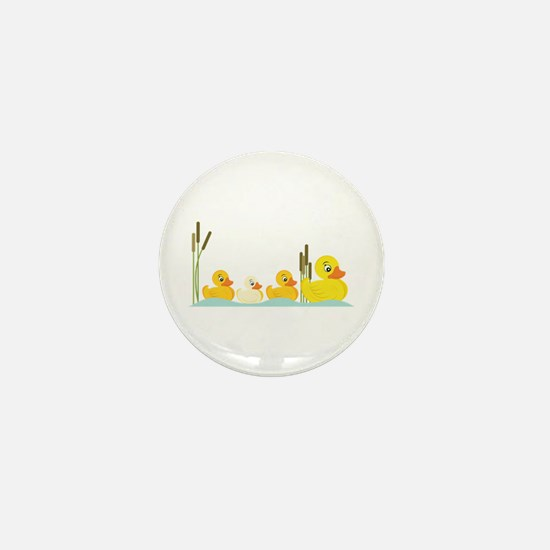 Ducky Family Mini Button