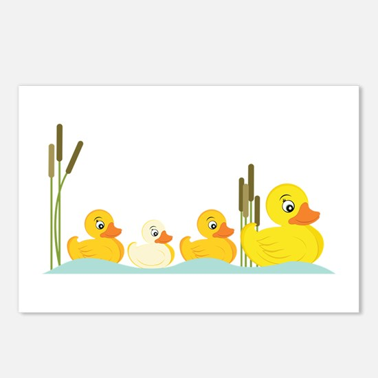 Ducky Family Postcards (Package of 8)