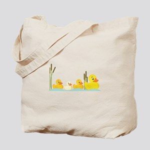Ducky Family Tote Bag