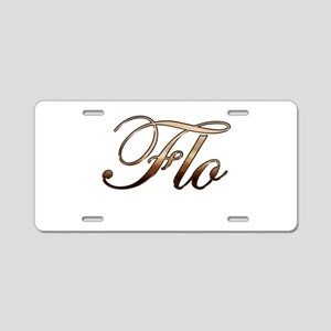 Flo Aluminum License Plate