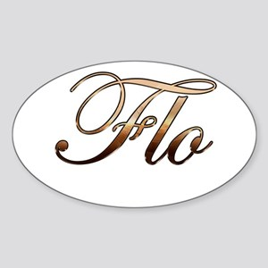 Flo Sticker (Oval)