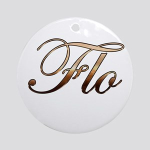 Flo Ornament (Round)