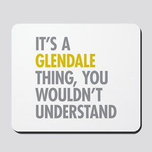 Glendale Queens NY Thing Mousepad