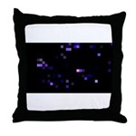 Digital Space Throw Pillow