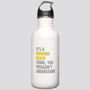 Howard Beach Queens NY Stainless Water Bottle 1.0L