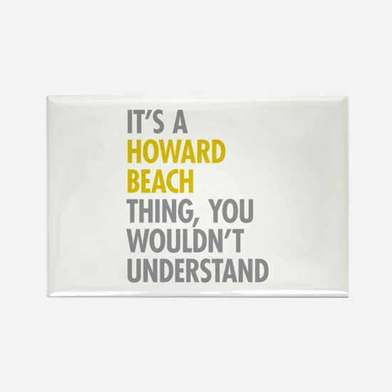 Howard Beach Queens NY Thing Rectangle Magnet