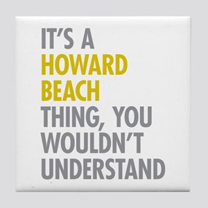 Howard Beach Queens NY Thing Tile Coaster