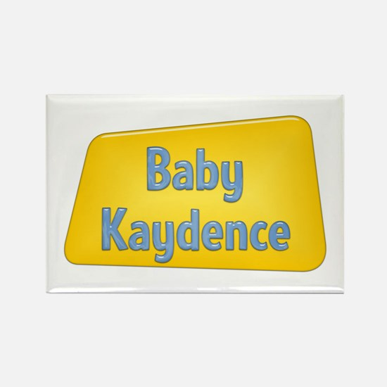 Baby Kaydence Rectangle Magnet