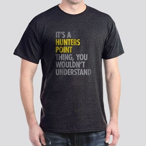 Hunters Point Queens NY Thing Dark T-Shirt