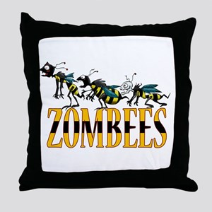 ZOMBEES Throw Pillow