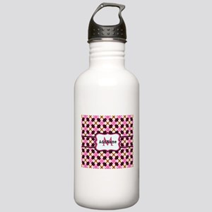 Pink Black and Gold Pa Stainless Water Bottle 1.0L