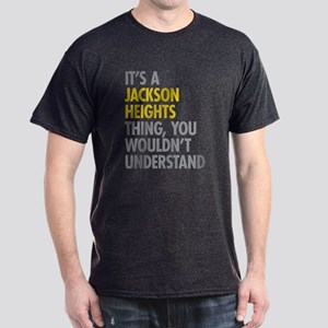 Jackson Heights Queens NY Thing Dark T-Shirt