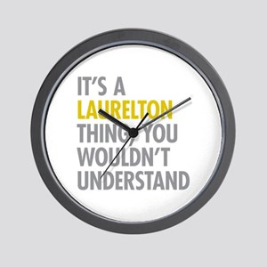 Laurelton Queens NY Thing Wall Clock