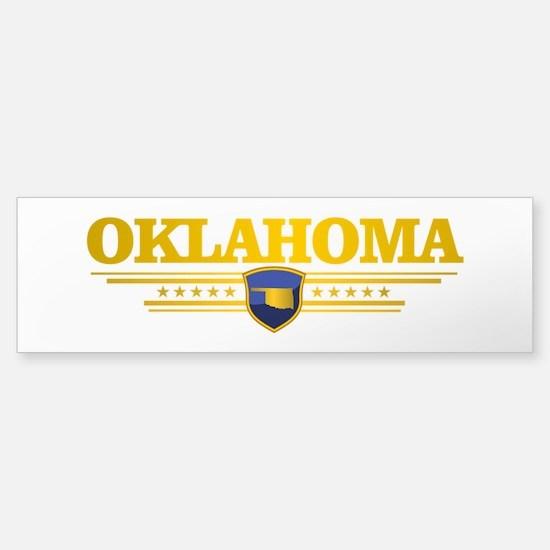 Oklahoma Gadsden Bumper Bumper Bumper Sticker