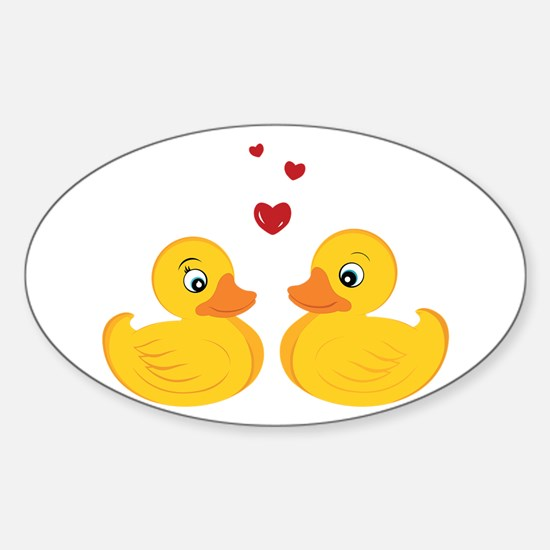 Love Ducks Decal