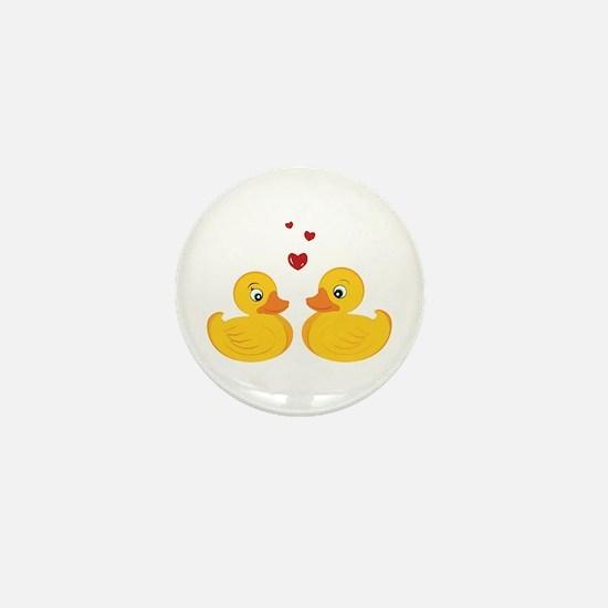 Love Ducks Mini Button