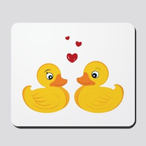 Love Ducks Mousepad