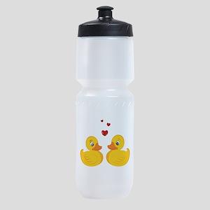 Love Ducks Sports Bottle