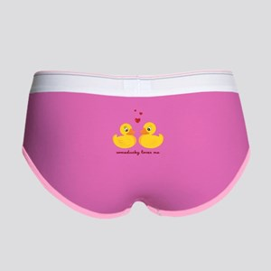 Someducky Loves Me Women's Boy Brief
