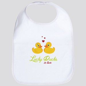 Lucky Ducks Bib