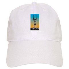 Sutro Tower logo Baseball Baseball Cap