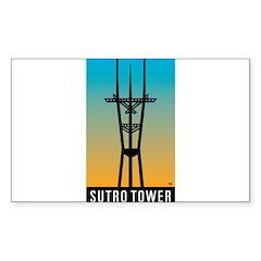 Sutro Tower logo Decal