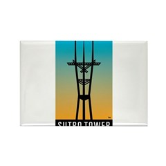Sutro Tower logo Magnets