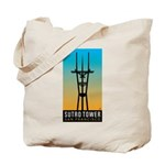 Sutro Tower logo Tote Bag