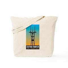 Sutro Tower logo Tote Bag