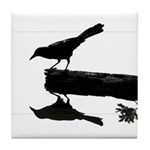 Blackbird Squared Tile Coaster
