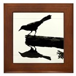 Blackbird Squared Framed Tile