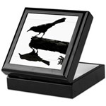 Blackbird Squared Keepsake Box