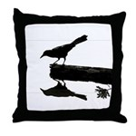 Blackbird Squared Throw Pillow