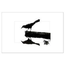 Blackbird Squared Large Poster