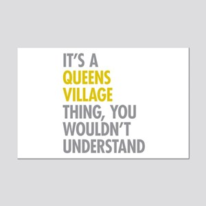 Queens Village NY Thing Mini Poster Print