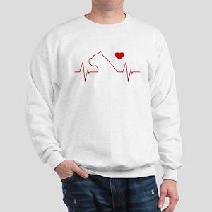 Cane Corso Heartbeat Sweatshirt